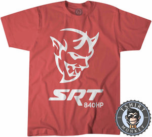 Challenger Demon SRT 840HP Tshirt Kids Youth Children 0038