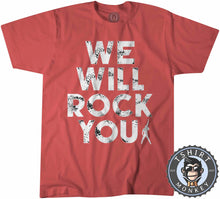 Load image into Gallery viewer, We Will Rock You Tshirt Kids Youth Children 0019
