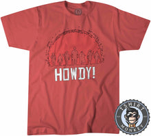 Load image into Gallery viewer, Howdy Red Dead Redemption Cowboy Game Inspired Tshirt Kids Youth Children 1064