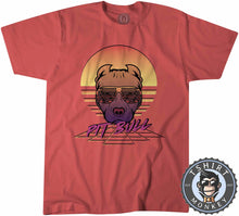 Load image into Gallery viewer, Retro Pitbull Animal Print Dog Lover Vintage Tshirt Kids Youth Children 1173