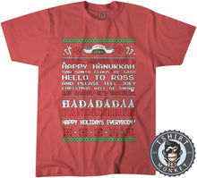 Load image into Gallery viewer, Monica Have A Happy Hannukah Tshirt Kids Youth Children 2981