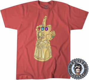 Infinity Finger Tshirt Kids Youth Children 0336