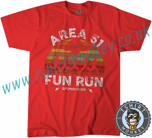 Area 51 Fun Run Meme T-Shirt Unisex Mens Kids Ladies - TeeTiger