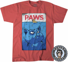 Load image into Gallery viewer, Paws Tshirt Kids Youth Children 3014
