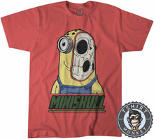 Load image into Gallery viewer, Miniskull - Minions Movie Inspired Skull Funny Cartoon Tshirt Kids Youth Children 1145