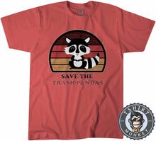 Load image into Gallery viewer, Save The Trash Panda Funny Skunk Meme Vintage Tshirt Kids Youth Children 1076