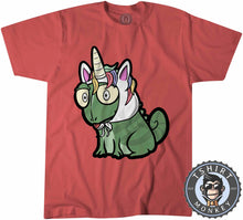 Load image into Gallery viewer, Unicorn Chameleon Cute Funny Cartoon Tshirt Kids Youth Children 1227