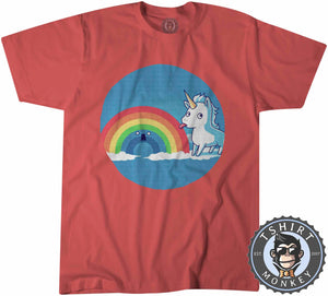 I Licked It And I Like It Funny Unicorn Graphic Tshirt Kids Youth Children 1124