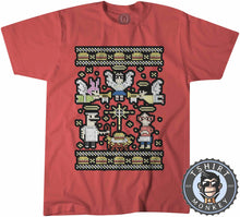 Load image into Gallery viewer, Juicy Delicious Burger Ugly Sweater Christmas Tshirt Kids Youth Children 2864