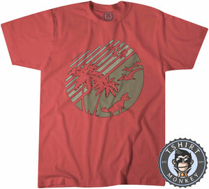 Jurassic Summer Vintage Tshirt Kids Youth Children 1208