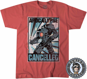 Apocalypse Cancelled Halftone Tshirt Kids Youth Children 0271