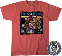 Load image into Gallery viewer, Dutch Bros Coffee Halloween Movie Inspired Vintage Tshirt Kids Youth Children 1137