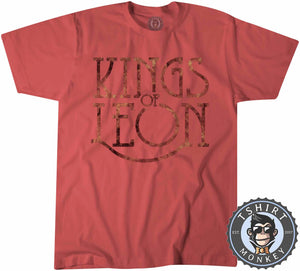 Kings of Leon Flame Inspired Tshirt Kids Youth Children 0349