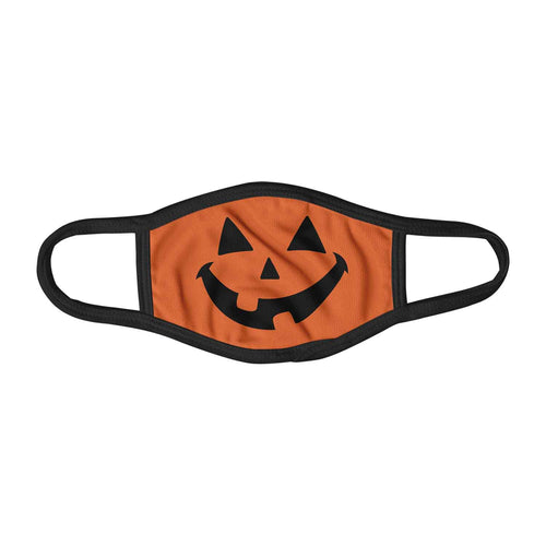 Jack O Lantern Halloween Inspired Pumpkin Face Mask Facemask Kids Child Adults Unisex M0082