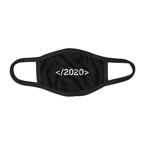 Close 2020 Code Snippets Programmers Face Mask Facemask Kids Child Adults Unisex M0070