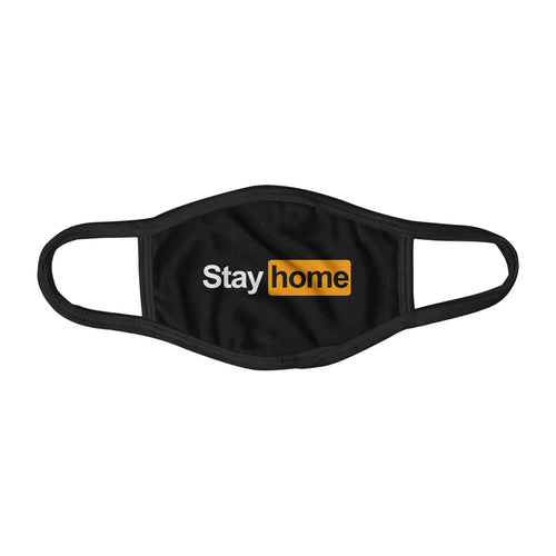 Stay Home Mashup Covid-19 Statement Face Mask Facemask Kids Child Adults Unisex M0056