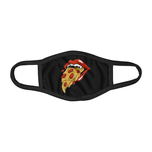 Pizza Lust Sexy Food Lover Graphic Face Mask Facemask Kids Child Adults Unisex M0039