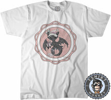 Load image into Gallery viewer, Toothless Badge Christmas Tshirt Kids Youth Children 2861