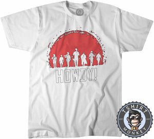 Howdy Red Dead Redemption Cowboy Game Inspired Tshirt Kids Youth Children 1064