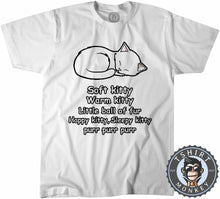Load image into Gallery viewer, Soft Warm Little Kitty Cat Lover Statement Tshirt Mens Unisex 1285
