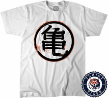 Load image into Gallery viewer, Grunge Kame Kanji Dragon Ball Inspired Graphic Tshirt Kids Youth Children 3186
