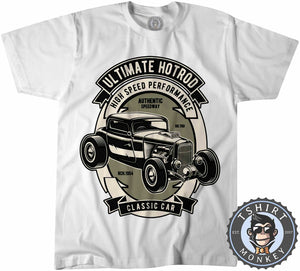 The Ultimate Hotrod Classic Car Inspired Car Lover Tshirt Kids Youth Children 1259