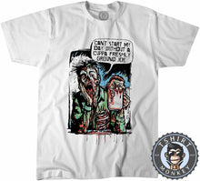 Load image into Gallery viewer, Can't Start My Day Without A Freshly Ground Joe Funny Comic Tshirt Mens Unisex 1199