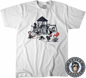Horror Park Movie Inspired Chibi Funny Halloween Tshirt Kids Youth Children 1343