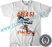 Load image into Gallery viewer, Area 51 Fun Run Meme T-Shirt Unisex Mens Kids Ladies