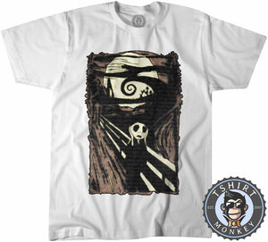 Jack Screams Halftone Tshirt Mens Unisex 2852