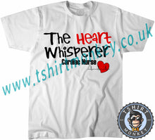 Load image into Gallery viewer, The Heart Whispers Cardiac Nurse T-Shirt Unisex Mens Kids Ladies