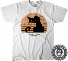 Load image into Gallery viewer, What - Grumpy Cat Funny Vintage Tshirt Kids Youth Children 1218