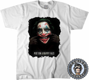 Put On A Happy Face Tshirt Kids Youth Children 2972