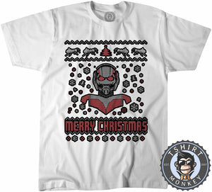 Ant-Man Ugly Sweater Chistmas Tshirt Kids Youth Children 1622