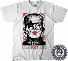 Load image into Gallery viewer, Frankisstein - Music Inspired Kiss Halloween Mashup Tshirt Kids Youth Children 1135