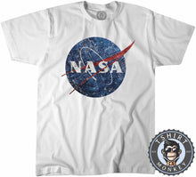 Load image into Gallery viewer, NASA Inspired Vintage Graphic Tshirt Shirt Mens Unisex 2223