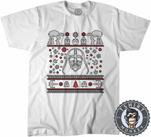 Load image into Gallery viewer, Darthtmas Ugly Sweater Christmas Tshirt Mens Unisex 1667
