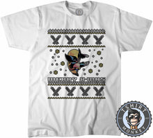 Load image into Gallery viewer, Wolverine Inspired Ugly Sweater Christmas Tshirt Mens Unisex 1656