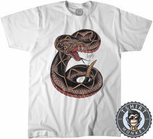Load image into Gallery viewer, Snake Tattoo Inspired Tshirt Mens Unisex 0241
