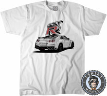 Load image into Gallery viewer, White GT-R Tshirt Mens Unisex 0342