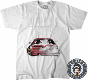 Drive and Drift Tshirt Kids Youth Children 0291