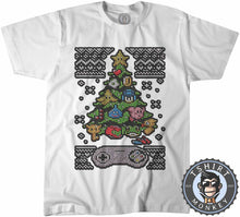 Load image into Gallery viewer, Classic Gaming Ugly Sweater Christmas Tshirt Kids Youth Children 2863