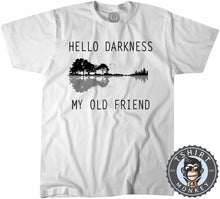 Load image into Gallery viewer, Hello Darkness My Old Friend Tshirt Kids Youth Children 0095