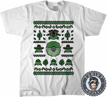 Load image into Gallery viewer, Bulbasaur Ugly Sweater Tshirt Mens Unisex 2904