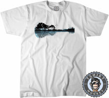 Load image into Gallery viewer, Nature Guitar Landscape Tshirt Kids Youth Children 0087