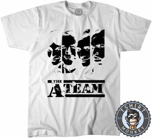 The A Team Inspired Illustration Tshirt Mens Unisex 0142