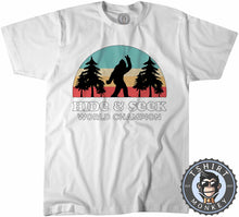 Load image into Gallery viewer, Vintage Hide And Seek World Champion - Bigfoot Sasquatch Funny Tshirt Kids Youth Children 1067