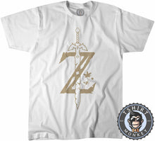 "Load image into Gallery viewer, Zelda ""Breath of The Wild"" Tshirt Mens Unisex 0057"
