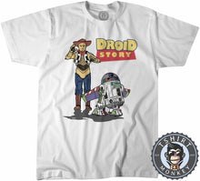 Load image into Gallery viewer, Droid Story Tshirt Kids Youth Children 0197