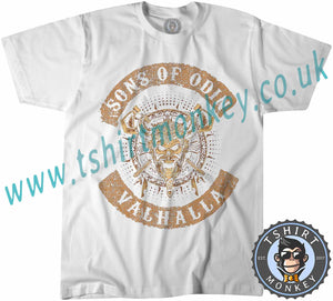 Vikings Rise Sons of Odin Thor T Shirt T-Shirt Unisex Mens Kids Ladies